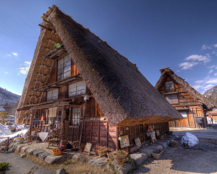 https://flic.kr/p/a7MiGM | Untitled | Shirakawa Village, located in the northwestern part of Gifu Prefecture. And. Located next to the village of Gokayama, Toyama Prefecture, west of the village Hakusan Mountains, which border is Ishikawa. .. And Gifu It is a typical mountain village surrounded by mountains. Mountains and forests, accounting for 96% of the area and the rest Cultivated land is 0.4%.