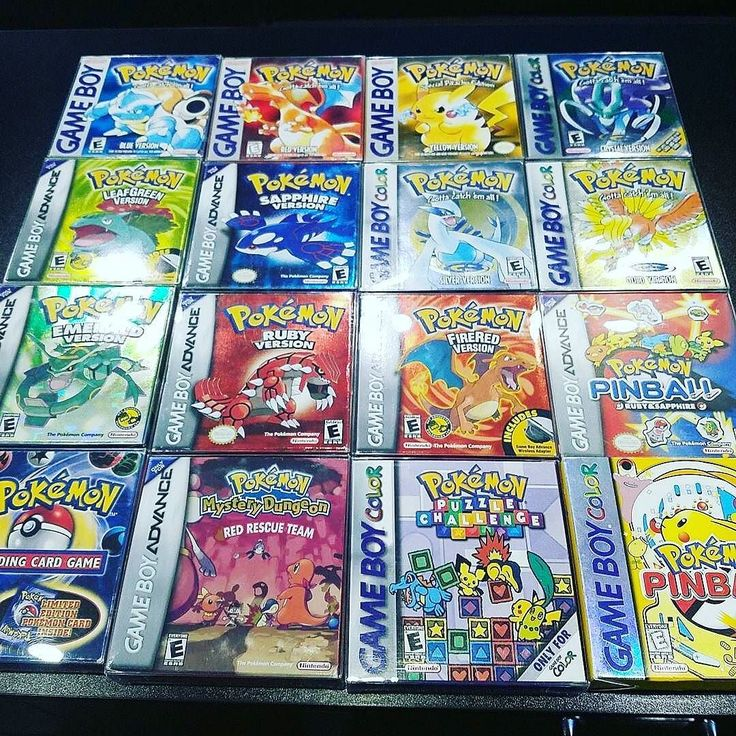 Happy poke-morning to you all! How is your day going? :D These lovely games were posted by @supervideogamebros  A huge Game Boy - Game Boy Color - Game Boy Advance collection traded in.  All complete and very minty.  #pokemon #red #blue #yellow #gold #silver #crystal #gameboy #cib #retrogaming #handheld #gba #gbc #complete #retrocollective #pikachu #shinypokemon #cute #pokeball #kawaii #pokémon #alphasapphire #charizard #pocketmonsters #charmander #gameboy #gamer #gaming #nerd #awesome