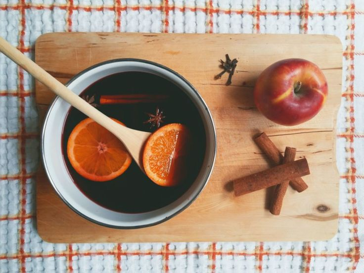 Mulled Wine with Spices - Violetmimosa
