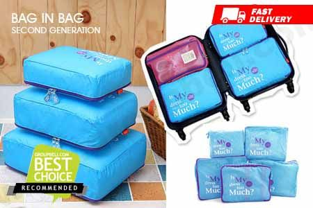 Travel Handy Bag baru all in 1 slots dan compartment innovasi murah hanya Rp 79.990 http://www.groupbeli.com/view.php?id=793