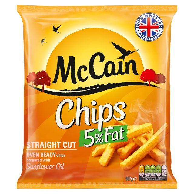 McCain Oven Chips http://www.ocado.com If you just can't be without the occasional oven chip then these are gluten free.  Be careful not all of McCain's chips are.  #ocado