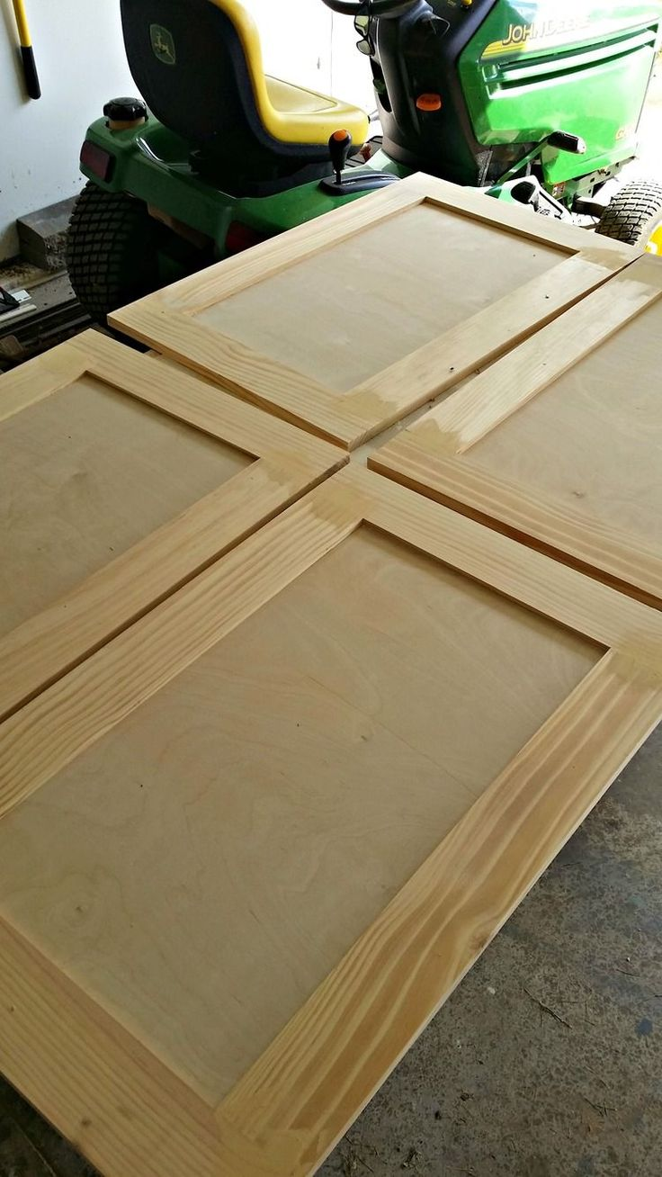 How To Build A Cabinet Door. Garage Cabinets DiyBuilding Kitchen ...