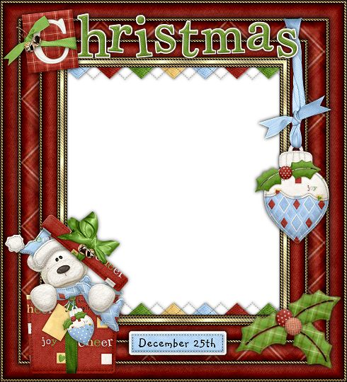 printable christmas picture frames - Kubre.euforic.co