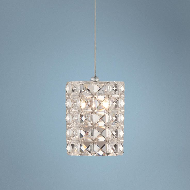 Possini Euro Design Pantheon 4 Quot Wide Crystal Mini Pendant