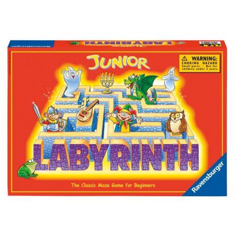 Junior labirintus társas már 5 éves kortól kiváló szórakozás