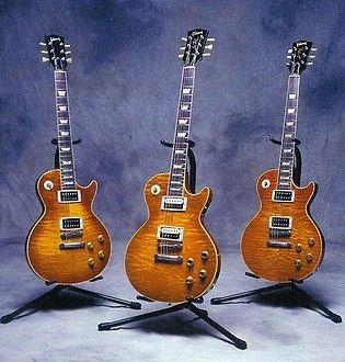 Slash's Gibson Les Paul guitars