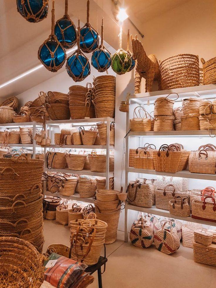 Can Garanya – Körbe, Taschen und Deko in Manacor