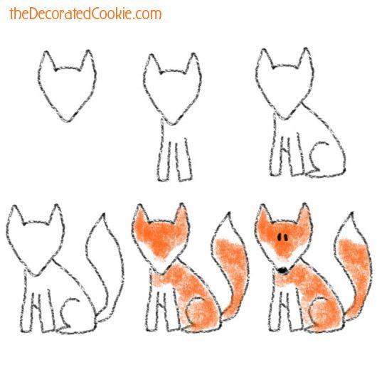 17 meilleures id es propos de comment dessiner un renard. Black Bedroom Furniture Sets. Home Design Ideas