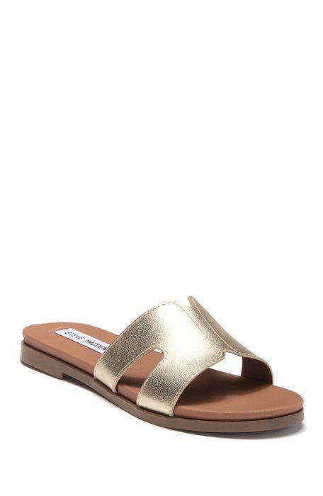 4f85223ce Steve Madden - Hoku Leather Slide Sandal