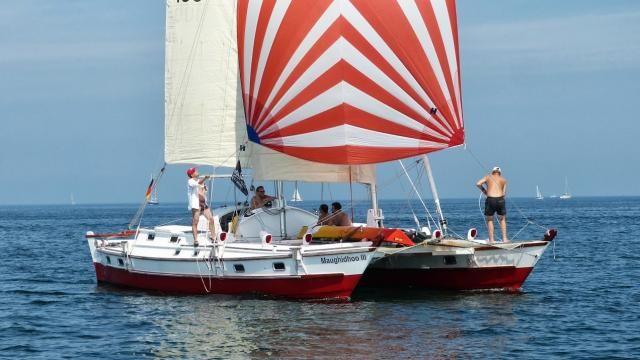 Tiki 38, Andy Smith Boatworks | James Wharram Designs