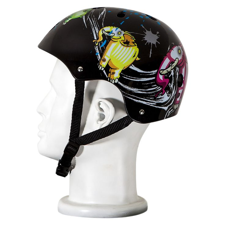 Punisher Skateboards Elephantasm Skateboard Helmet - Black