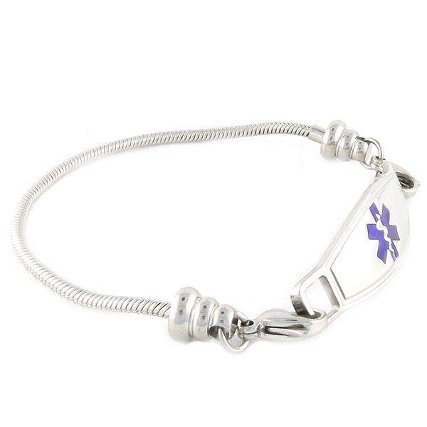 Pandora Chain Medical ID Bracelets - Bracelets | N-Style ID