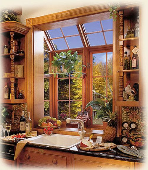 Kitchen Garden Window, Kitchen