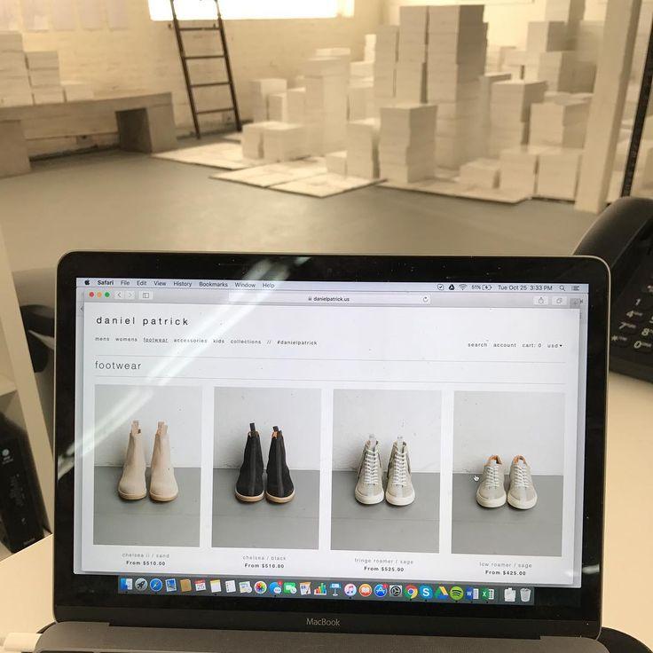 new footwear online // #danielpatrick #losangeles #footwear #madeinitaly