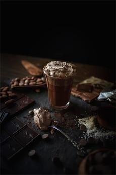Расплавленный горячий шоколад