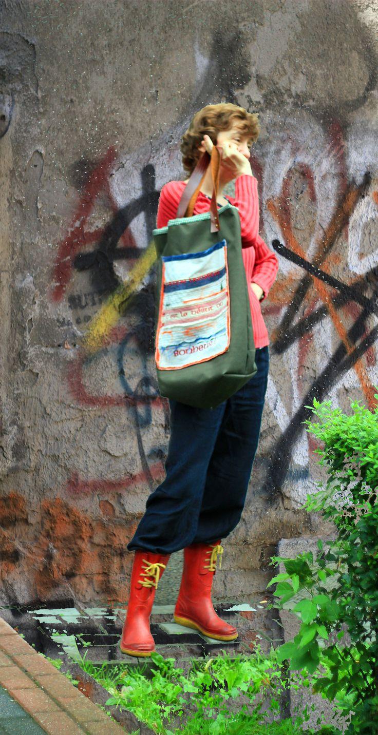 casual bag BONHEUR - city style