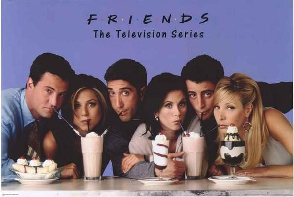 Friends Milkshakes TV Show Cast Poster 24x36 – BananaRoad