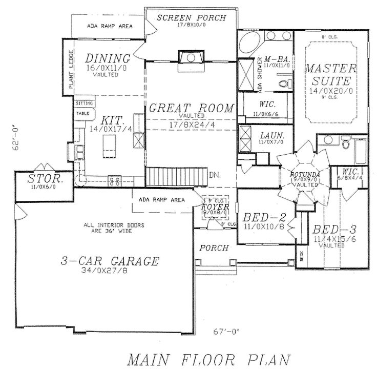 57 best house plans images on pinterest | 3/4 beds, floor plans