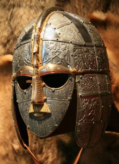 Found at Sutton Hoo, Suffolk, UK. Anglo Saxon Burial Mask