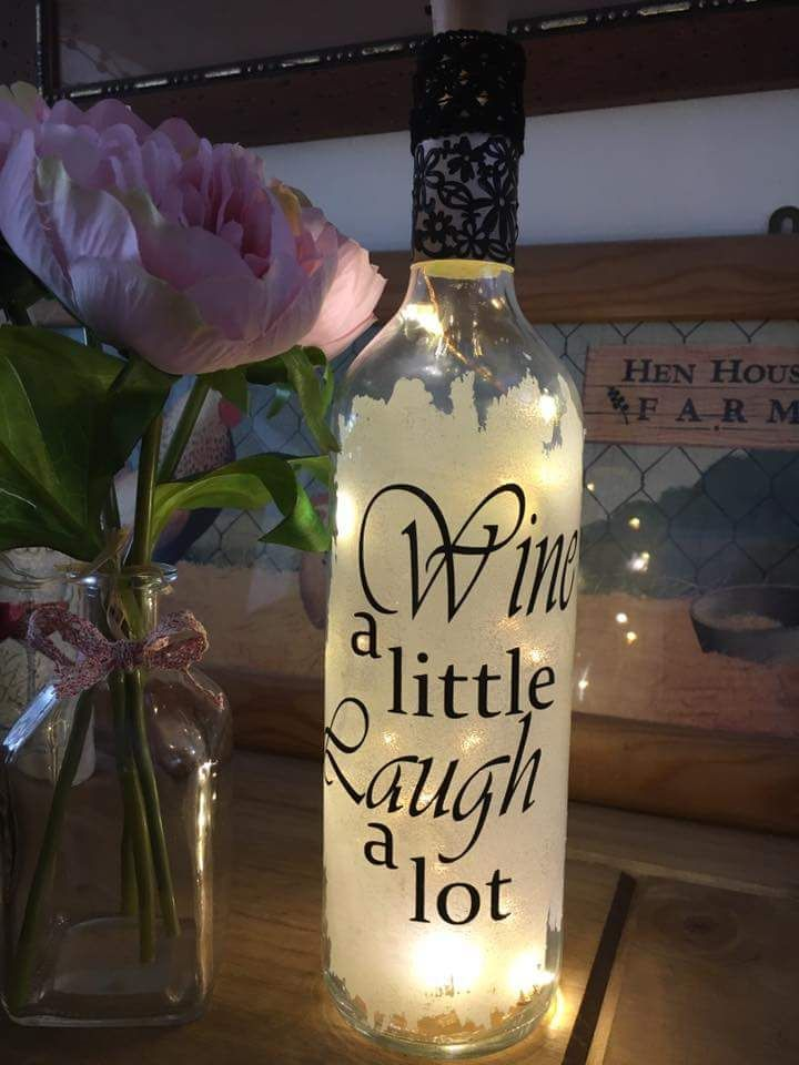 Inspirational Cool Quotes On Wine Bottle 50