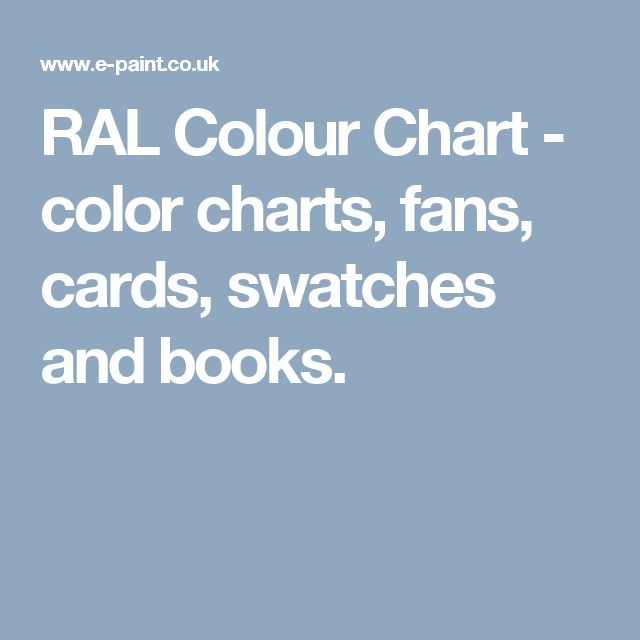 ral colour chart color charts fans cards swatches and books