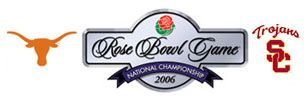 2006 Rose Bowl - Wikipedia,  Texas Longhorns (12-0)	41 USC Trojans (12–0[n 1])  38 Head coach: Mack Brown 	Head coach: Pete Carroll