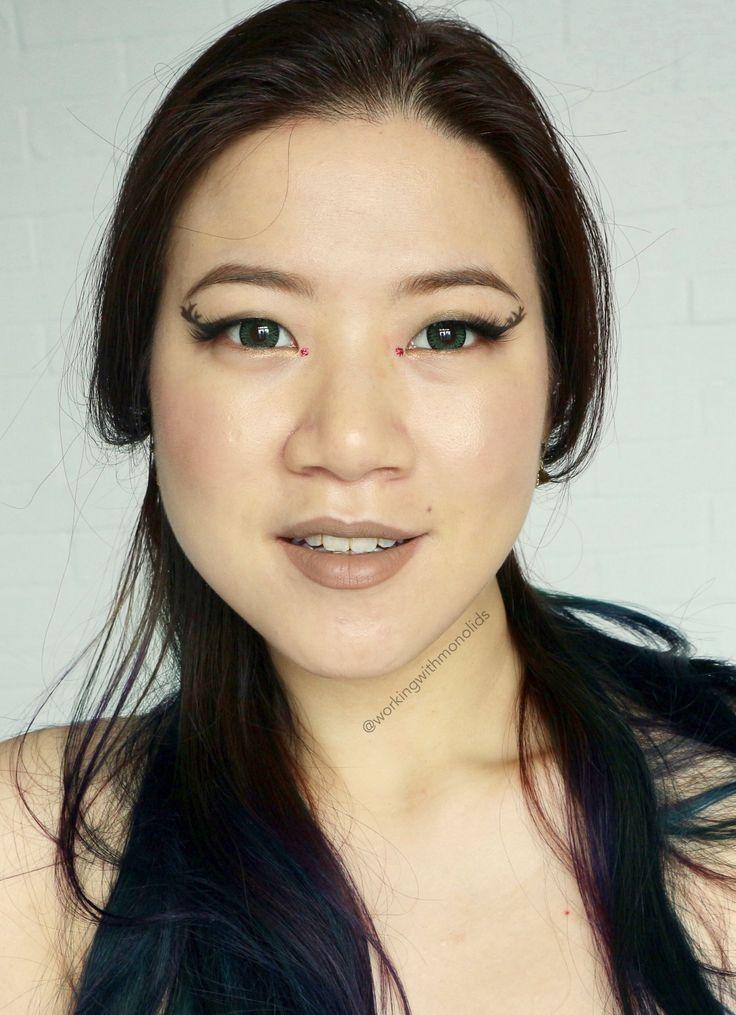 Rudolph eyes! #makeup #beauty
