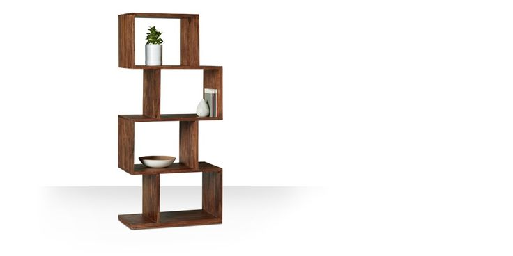 Swoon Editions Shelving unit, Contemporary style in Rosewood - £159