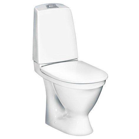 Toalettstol Gustavsberg Nautic 5510 - Golvstående toalett - Toalettstol & WC-stol