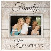 "Found it at Wayfair - 4"" x 6"" Family Is Everything Sunwashed Wood Picture Frame"