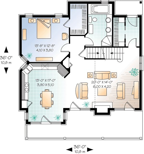 Best 25 simple house plans ideas on pinterest simple for Award winning narrow lot house plans