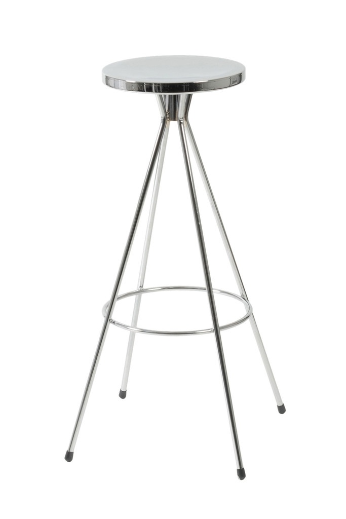 Caroline B Swivel Bar Stool Chrome Set Of 2