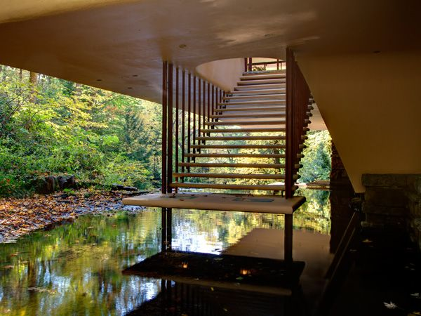 Fallingwater Kaufman Residence 1936 9 Bear Run Creek
