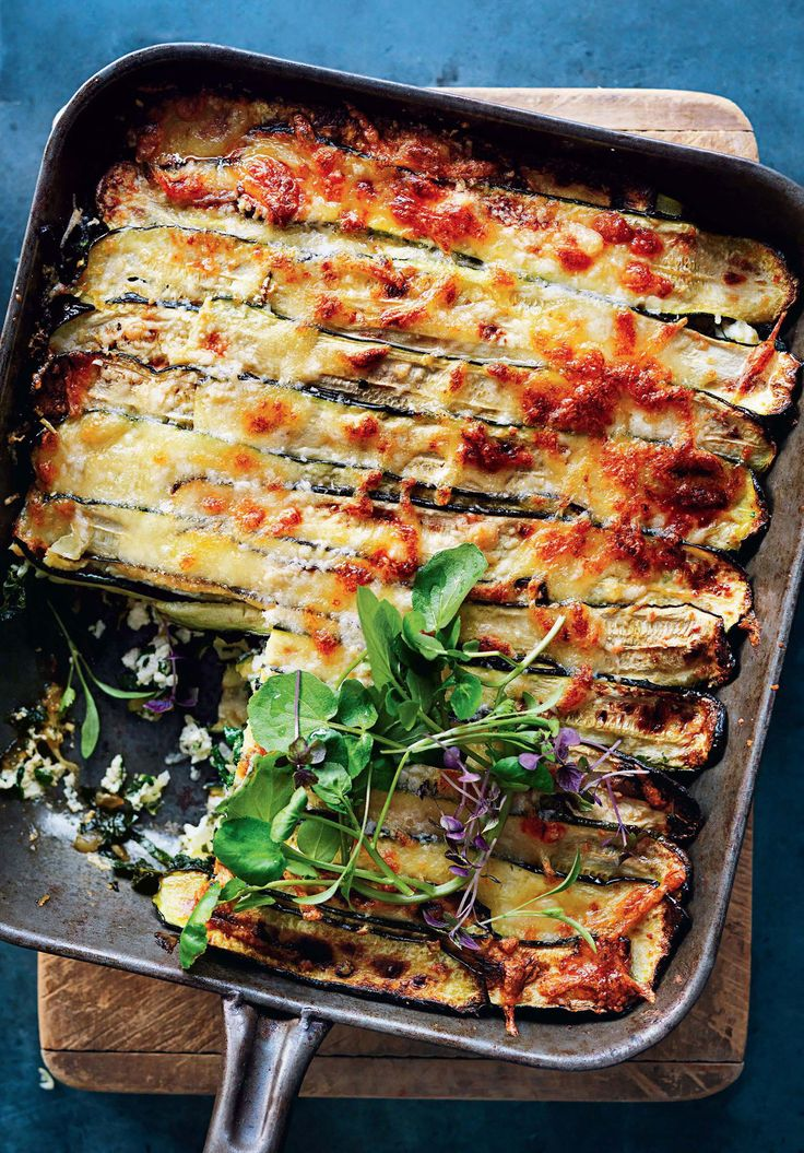 Roasted Zucchini Lasagna Recipe | Epicurious
