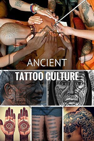 Tattoo fanatics across the world have an incredible variety of designs and styles to choose from today. From expansive designs to minimalistic tattoos, body ink has come a long way indeed. However, tattooing, as we all know, is not an art discovered by the modern world. There have been many ancient cultures that have been