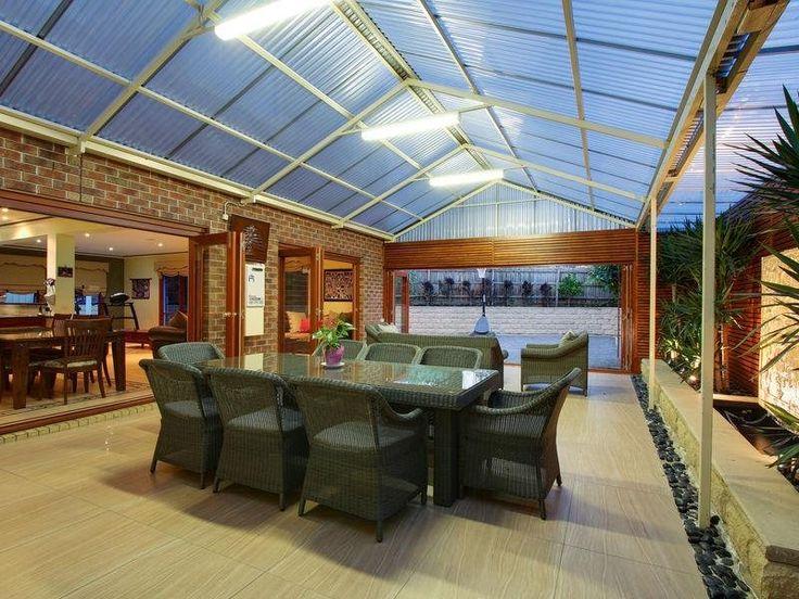 Indoor-outdoor outdoor area ideas
