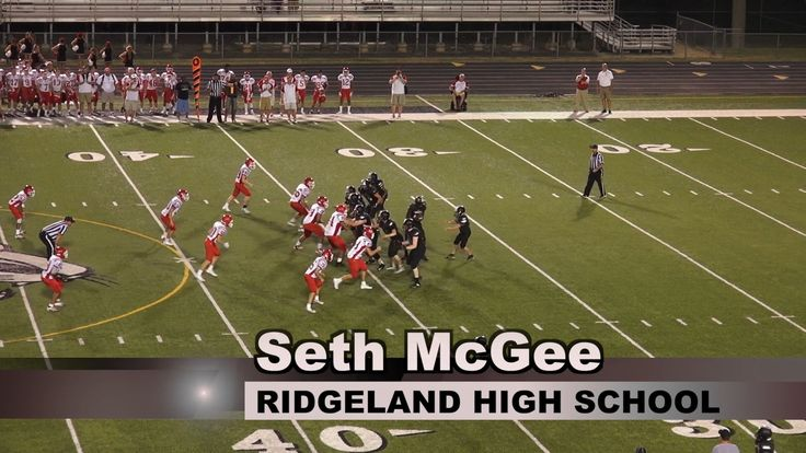 Seth McGee of Ridgeland High School Scores on Amazing 65-yard Touchdown Run