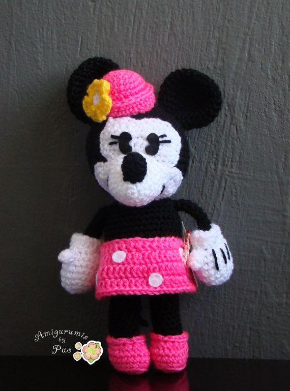 7 besten mickey y minnie Amigurumis by pao Bilder auf Pinterest ...