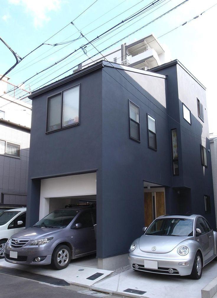 狭小敷地に建つ木造耐火の3階建て住宅|亀戸の家の部屋 外観