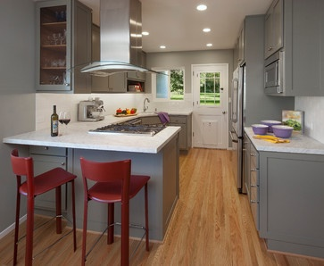 Marilyn Way - traditional - kitchen - santa barbara - Projects by Giffin & Crane
