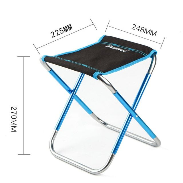 Portable Outdoor Foldable Chair Ultralight Picnic Fishing Travel Train Stool Seats Hot Sale Review Foldable Chairs Beach Chairs Chair