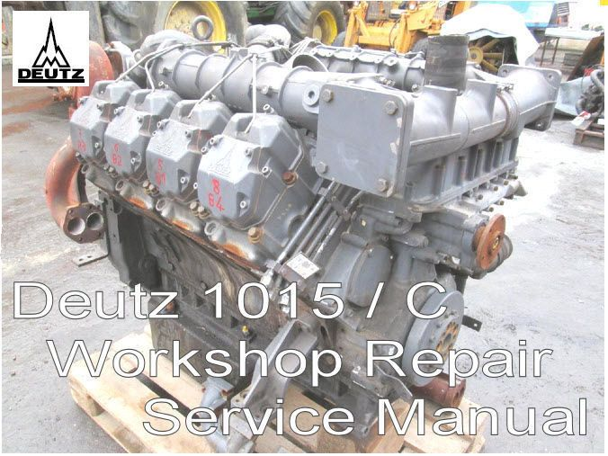Deutz F3m2015 Engine Manual