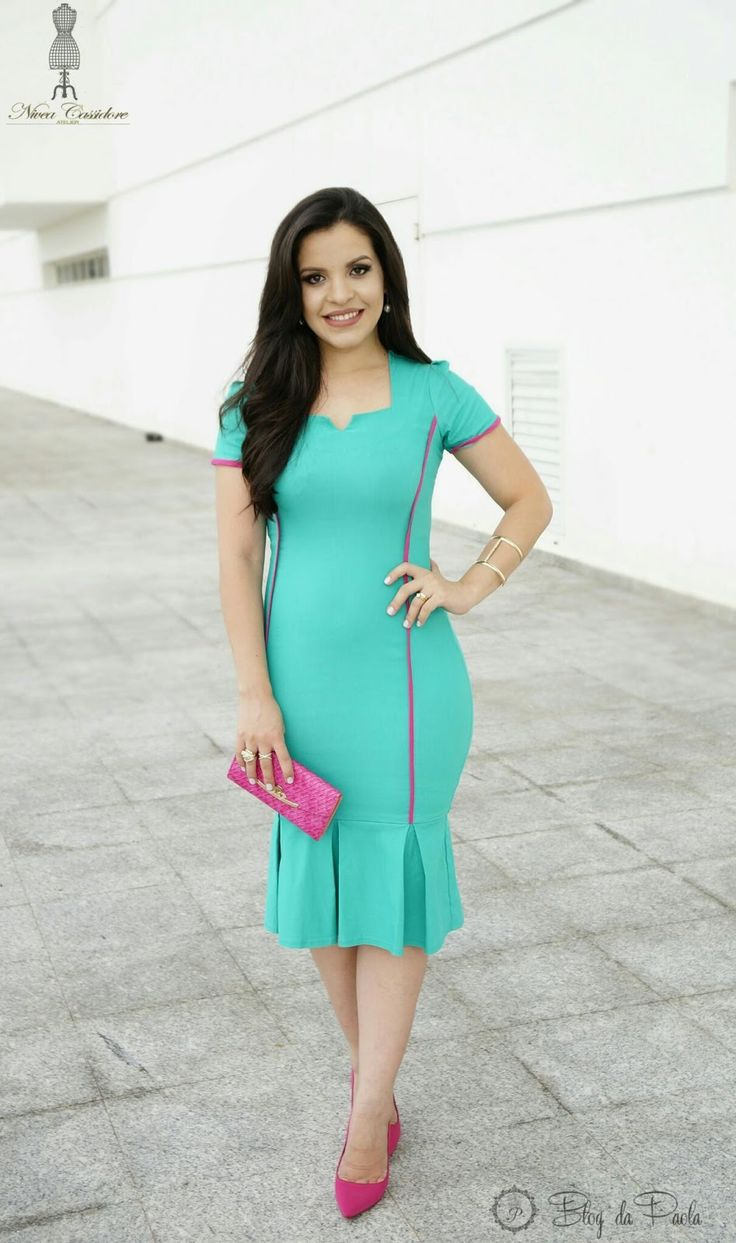 Look do Dia: Vestido Nivea Cassidore   Blog da Paola
