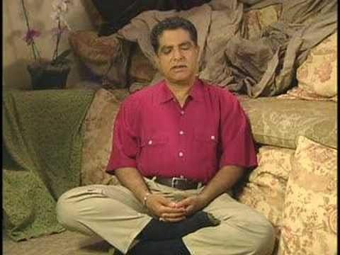 Deepak Chopra's Introduction to Meditation – part 1, segment 4 (approx. 3 minutes)