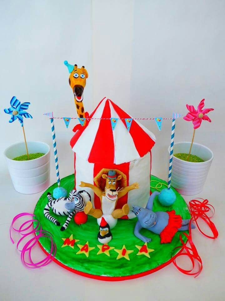 Magadascar 3 cake