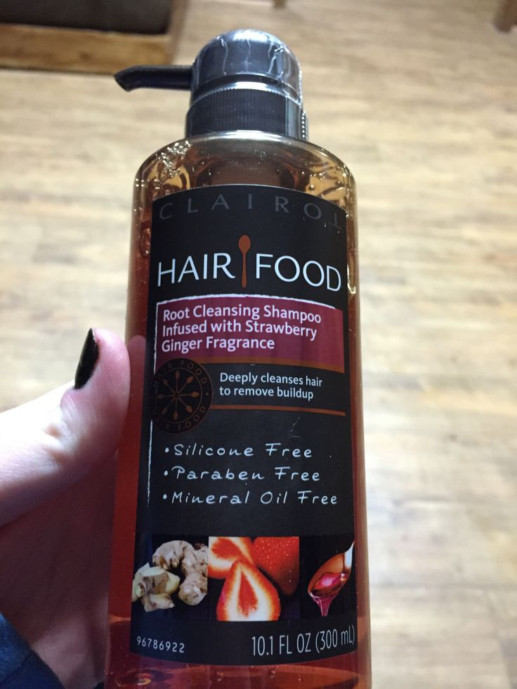 Hair food root cleansing shampoo that smells like