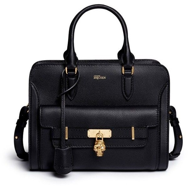 Alexander McQueen Bags (1,575 CAD) ❤ liked on Polyvore featuring bags, handbags, black, alexander mcqueen, alexander mcqueen purse, black handbags, black bag and alexander mcqueen handbags