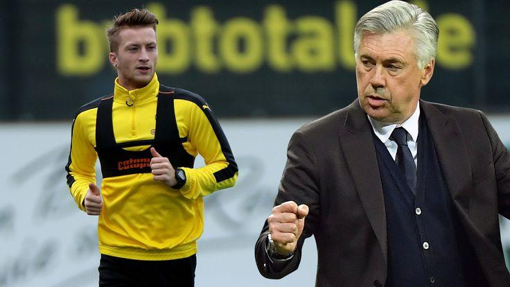 Beim Knaller Samstag (18.30 Uhr) in Dortmund fehlt dem BVB Marco Reus (27) wegen Fersenproblemen. Grund zur Freude bei den Bayern? Foto:…