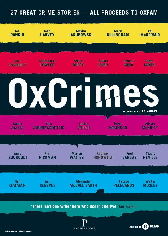 OxCrimes - a collection of 27 compelling crime stories - is now on sale at Oxfam Books Parliament St, Rathmines, in Ennis, Co. Clare and French Church St, Cork. Only €10 and all profits go to Oxfam!  Curated by Peter Florence, director of Hay Festival, the contributors line-up includes two of Ireland's best crimes writers, John Connolly and Adrian McKinty, who are joined by contemporaries from all over the world.  Find your nearest OxCrimes stockist here: https://www.oxfamireland.org/shops