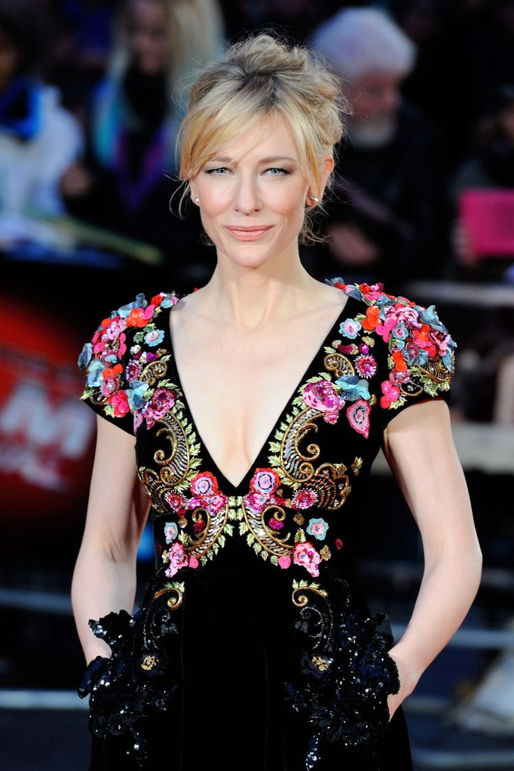 Cate Blanchett ALWAYS gets it right!  workinglook.com